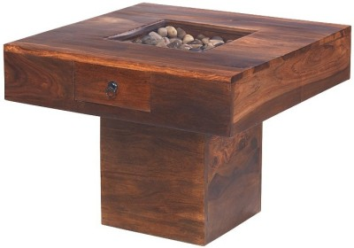 The Attic Solid Wood Coffee Table(Finish Color - Brown)
