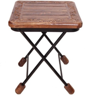 Onlineshoppee CAC Solid Wood End Table