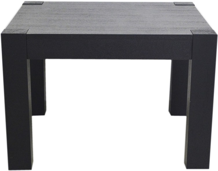 View Ambience Interior Mall Square Corner Table Engineered Wood Coffee Table(Finish Color - Black) Furniture (Ambience Interior Mall)