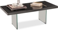 Durian ALEX Glass Coffee Table(Finish Color - Black)