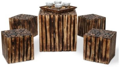Onlineshoppee Solid Wood Coffee Table