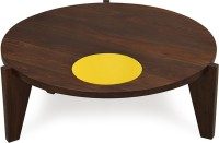 @home by Nilkamal Solid Wood Coffee Table(Finish Color - Yellow)