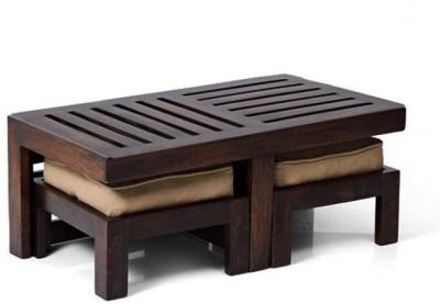 Smart Choice Furniture Rosewood (Sheesham)_JICT08_Matte finish Solid Wood Coffee Table