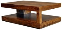 Ringabell Solid Wood Coffee Table(Finish Color - Brown)