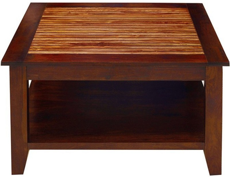 Jivan Solid Wood Coffee Table(Finish Color - Brown)