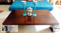 Urban Ladder Java Solid Wood Coffee Table(Finish Color - Mahogany)