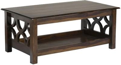 Smart Choice Furniture Rosewood (Sheesham)_JICT04_Matte finish Solid Wood Coffee Table