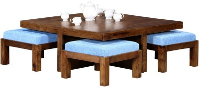 HomeEdge Solid Wood Coffee Table(Finish Color - PROVINCIAL TEAK)