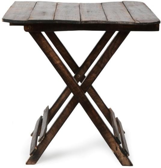 View Craftatoz Solid Wood Coffee Table(Finish Color - antique black) Furniture (Craftatoz)