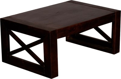 Indian Hub Solid Wood Coffee Table(Finish Color - Brown)
