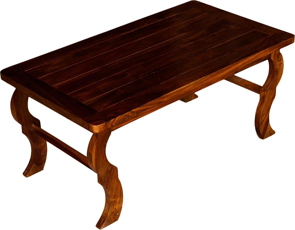 View Handiana Solid Wood Coffee Table(Finish Color - Light Brown) Furniture (Handiana)