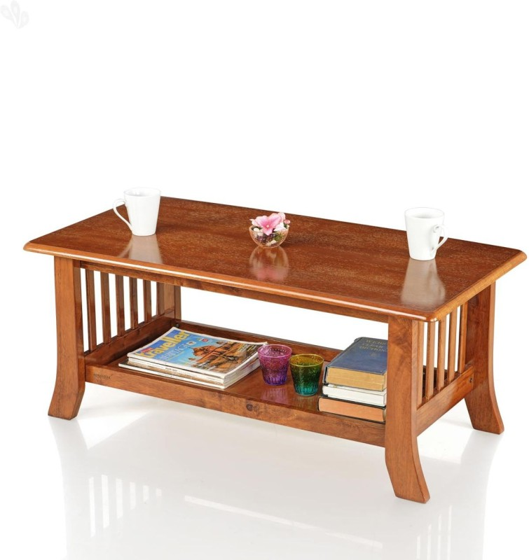 Royal Oak Vita Solid Wood Coffee Table(Finish Color - Natural...