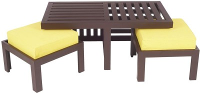 ARRA Engineered Wood Coffee Table(Finish Color - Lemon Yellow)