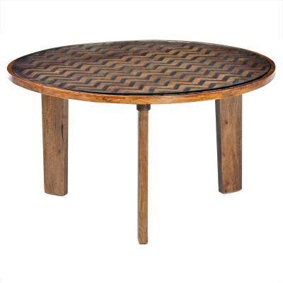 @home by Nilkamal Fabio Solid Wood Coffee Table