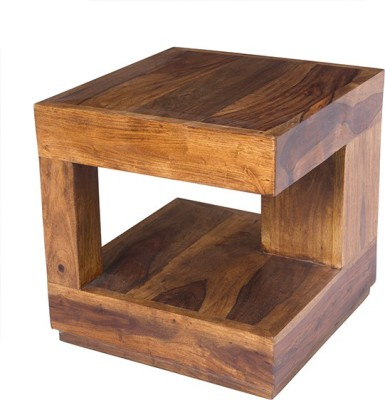 aAdinath Solid Wood Coffee Table(Finish Color - Brown)