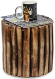 Onlineshoppee Solid Wood Bar Stool (Fini...