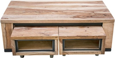 InLiving Solid Wood Coffee Table