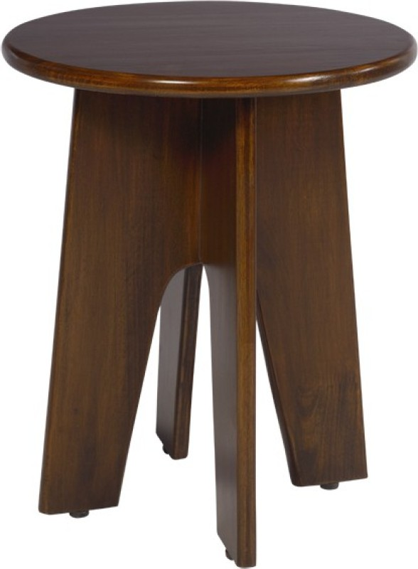 Shreeganeshfurnitures Solid Wood Bar Stool(Finish Color - Brown)