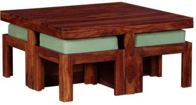 Smart Choice Furniture Rosewood (Sheesham)_JICT03_Matte finish Solid Wood Coffee Table