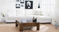 Urban Ladder Panama Solid Wood Coffee Table(Finish Color - Teak)
