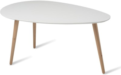 Durian CALVIN/A Solid Wood Coffee Table(Finish Color - White)