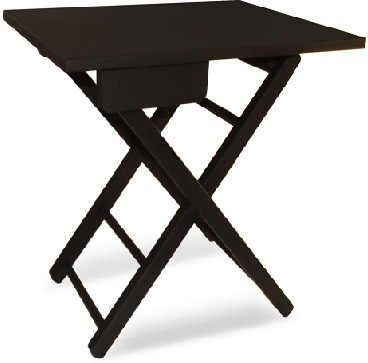 View Colorwood Lara Foldable table Solid Wood Coffee Table(Finish Color - Black) Furniture (Colorwood)