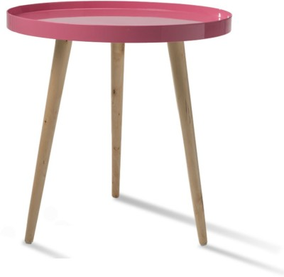 Durian ATOM/A Solid Wood Coffee Table(Finish Color - Pink)