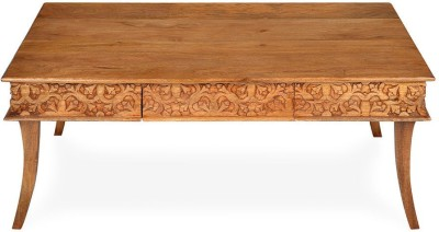 @home by Nilkamal Vesta Solid Wood Coffee Table