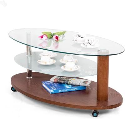 Royal Oak Oval Engineered Wood Coffee Table