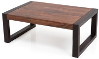 Urban Ladder Altura Solid Wood Coffee Table(Finish Color - Two-tone)