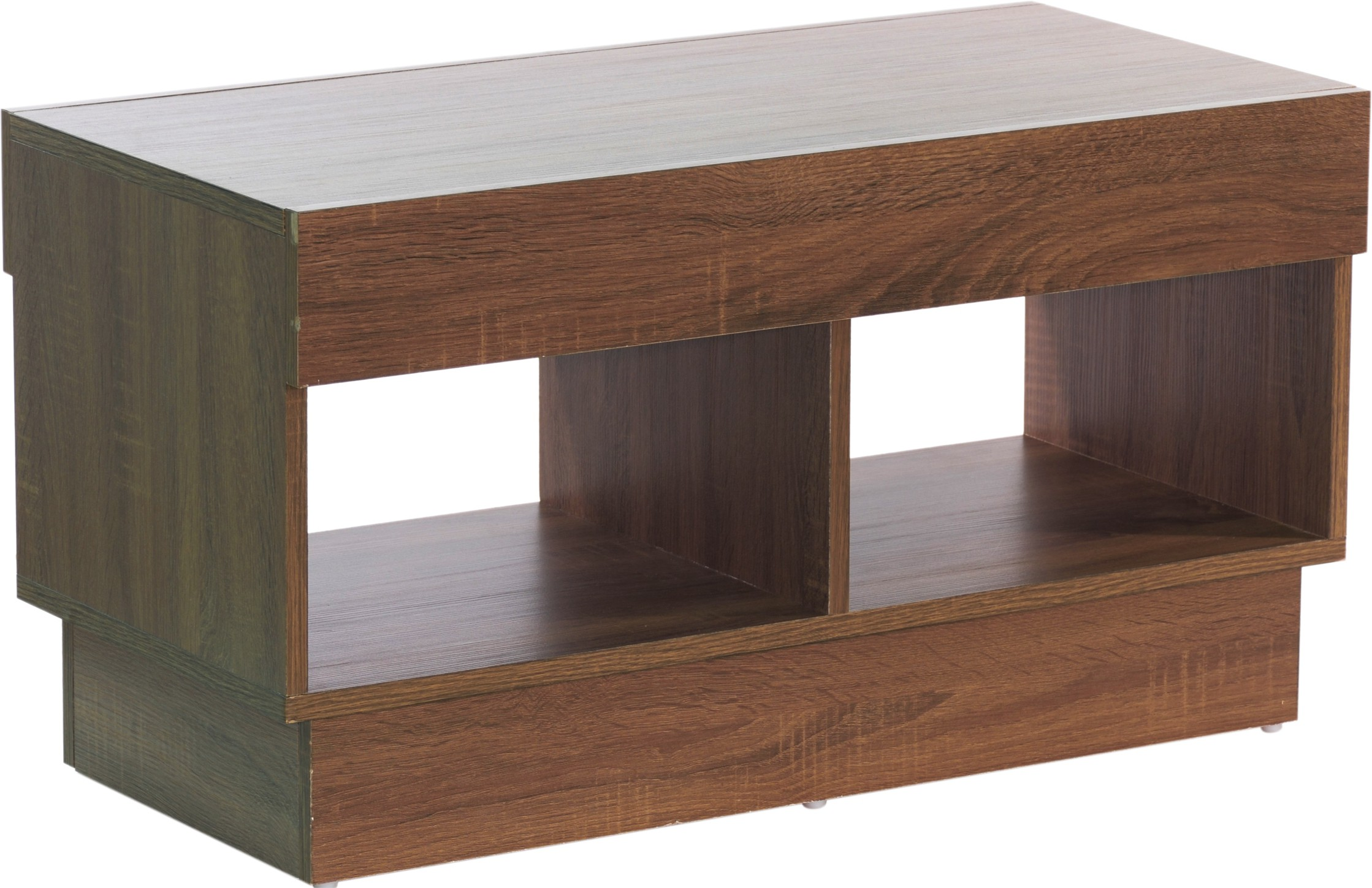 View Woodstock India Solid Wood Coffee Table(Finish Color - Light Brown) Price Online(Woodstock India)