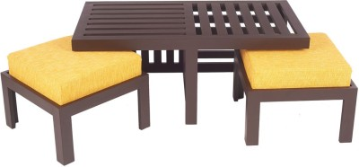 ARRA Engineered Wood Coffee Table(Finish Color - Yellow)