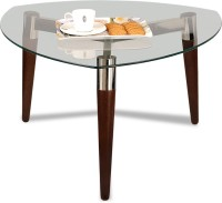 Durian ASIAB/31430 Glass Coffee Table(Finish Color - Clear Glass)
