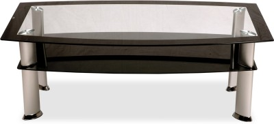 Durian MLM/57308 Glass Coffee Table(Finish Color - Clear Glass)