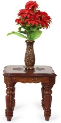 Onlineshoppee CAC Solid Wood Side Table
