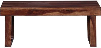 Ringabell Solid Wood Coffee Table(Finish Color - Teak)
