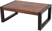 The Attic Solid Wood Coffee Table(Finish Color - Teak and Mahogany)
