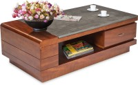 Durian ASHTON Solid Wood Coffee Table(Finish Color - Walnut)