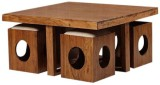 Smart Choice Furniture Solid Wood Coffee...
