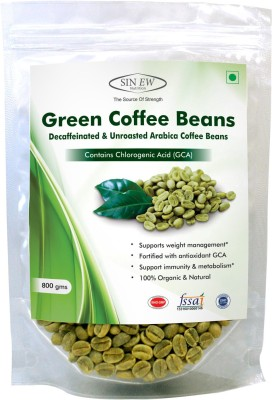 Sinew Green Instant Coffee 800 g(Pack of 1 Green Coffee Flavored)