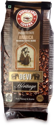 Devi Heritage Premium Arabica Filter Coffee 250 g(Pack of 1 Unflavoured Flavored)