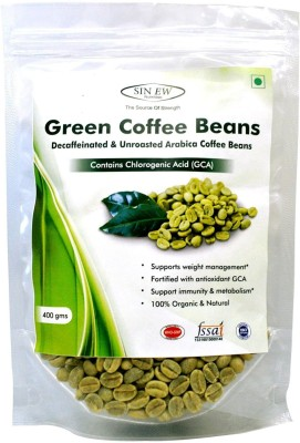 Sinew Green Coffee Instant Coffee 400 g(Pack of 1 Unflavoured Flavored)