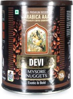 Devi Mysore Nuggets Arabica AAA Beans Filter Coffee 250 g Tin