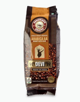 Devi Pride of India Single Estate Arabica AA Beans Reserve Filter Coffee 250 g(Pack of 1 Unflavoured Flavored)