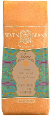 Seven Beans Urja Ground Filter Coffee 250 g(Pack of 1 Plain Flavored)