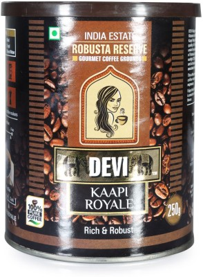 Devi Kaapi Royale Robusta Reserve Grounds Filter Coffee 250 g(Pack of 1 Unflavoured Flavored)