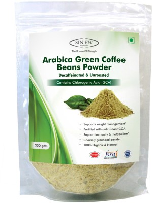 Sinew Arabica Beans Powder Instant Coffee 350 g(Pack of 1 Green Coffee Flavored)