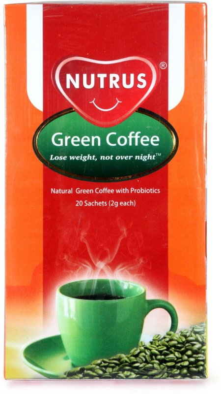 Nutrus Probiotic Green Instant Coffee 40 g Box(Green Coffee Flavoured)