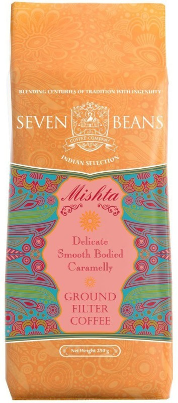 Seven Beans Mishta Ground Filter Coffee 250 g Bag