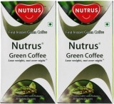 Nutrus Green (Pack of 2) Instant Coffee ...